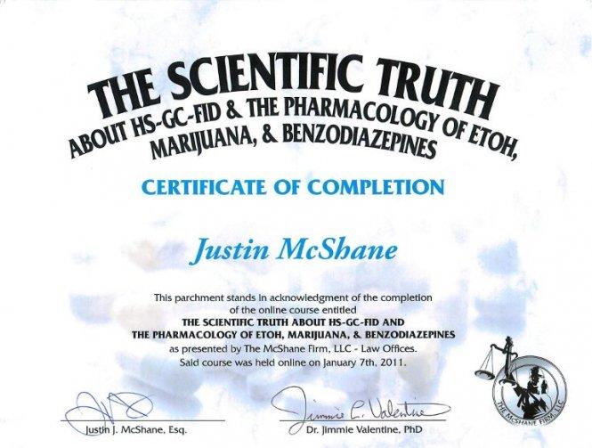 The Scientific Truth