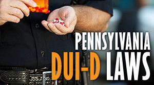 PA DUI Drugs